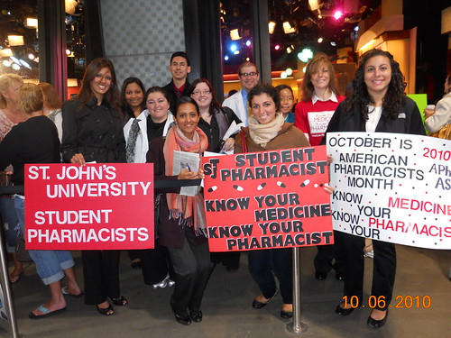 American Pharmacists Month 2010 - Live from New York