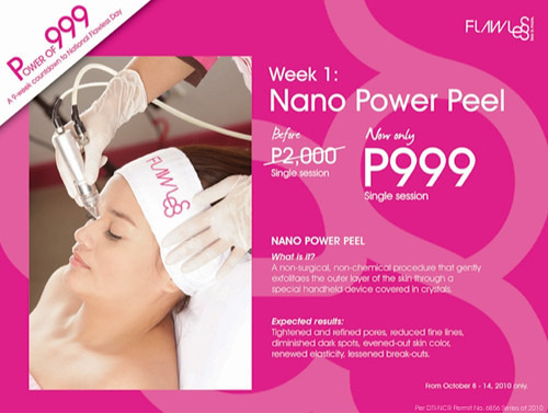 Flawless Power of 999 - Nano Power Peel