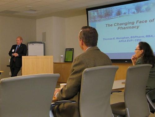 APhA CEO Tom Menighan visits AMGEN