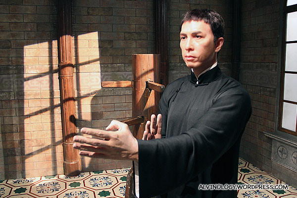 Side view of Ip Man