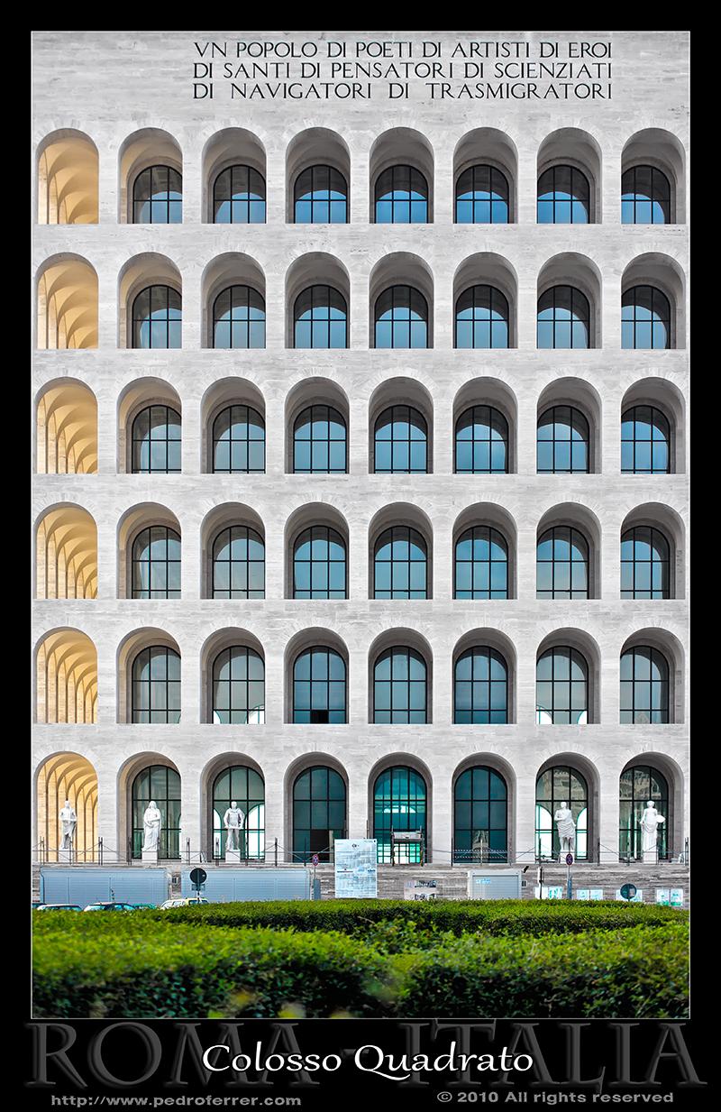 Roma EUR - Palazzo della Civiltà Italiana