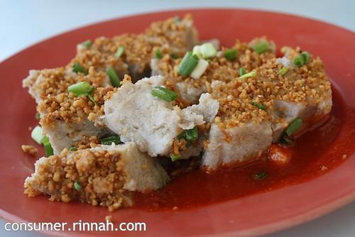 Yam cake @ Kedai Kopi Sun Yuan Loong