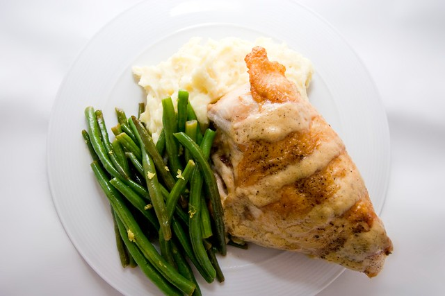 Roasted Chicken with French-Style Pan Sauce | Spache the Spatula
