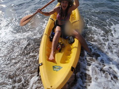 Queen Janny landing on Isla del Cano beach
