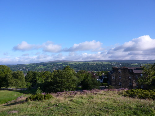 Ilkley from above