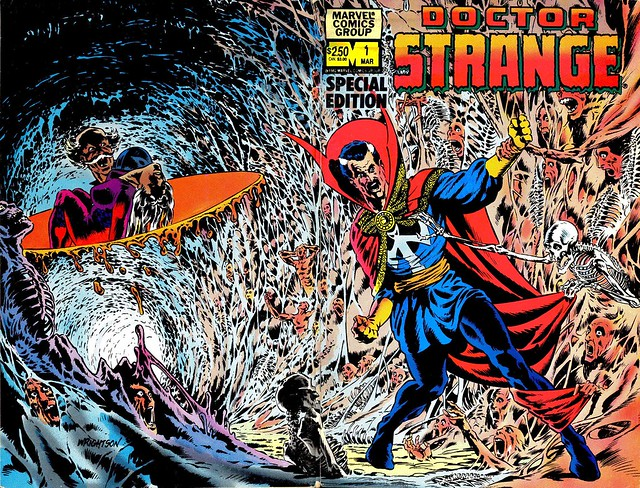 Dr Strange Special Edition 1982 cover by Berni Wrightson