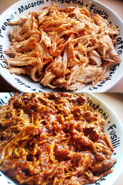 Nancy's Best Nachos With Mexican Pulled Chicken and Gaucamole - The Inky Kitchen