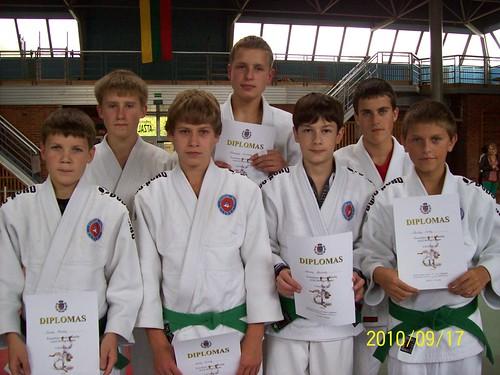 Iš kairės V.Pronckus, T.Kaulius, L.Čiuželis, D.Turčinskas, A.Kasteckas, M.Smilgis, P.Šimkus.