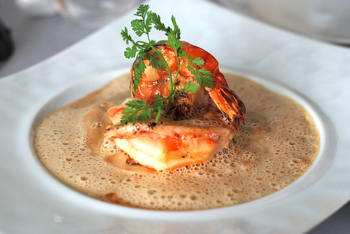 King Prawns with a Bisque Sauce