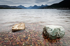 (scifitographer) Tags: park lake water canon nationalpark montana rocks september glacier national glaciernationalpark mcdonald 2010 bethanthony 5dmkii retroreflectography