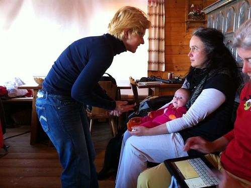 Nicole, Karola und die kleine Lily