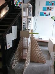 Drip Field- (g.bugel) Tags: nyc newyorkcity school ny newyork architecture manhattan columbia cnc avery plywood 2010 milling fabrication lifesupport gsapp vacuumforming cncmill petg averyhall sp10 aquaponic