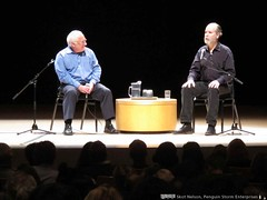 Douglas Coupland delivered the Massey Lecture at UBC's Chan Centre
