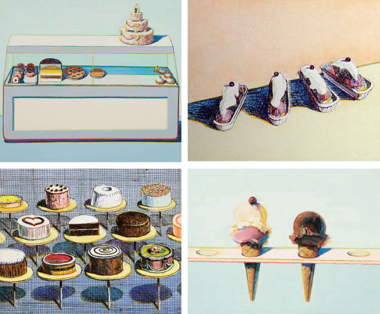 Sweets by Wayne Thiebaud