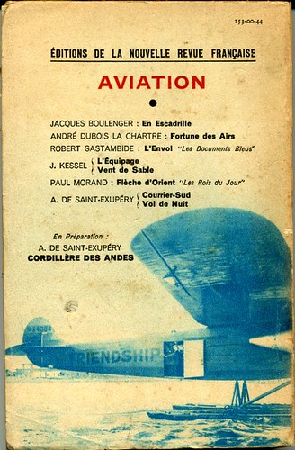 Plaisir des ailes, by Miss EARHART
