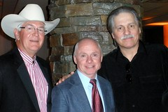Chris McCarron and President of the National Cowboy & Western Heritage Museum, Chuck Schroeder