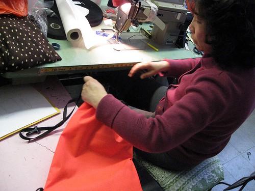 Caroine Fu Traffic Cone Bag