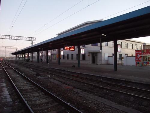 嘉峪関(かよくかん)駅