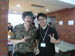 Larry Wall & Takesako @ YAPC::Asia 2010 Tokyo Day 2