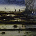 Pegwell Bay, Kent - a Recollection of October 5th 1858, detail of bay at low tide