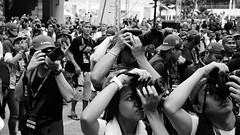 Canonistas :-) (Aditya Indrajaya) Tags: life street city people urban bw holiday love home festival canon indonesia square lumix town day peace noiretblanc outdoor traditional negro crowd culture jakarta leisure blanc gf1 photomarathon canonista adityaindrajaya