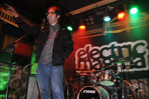 Electric Magma at the Rainbow