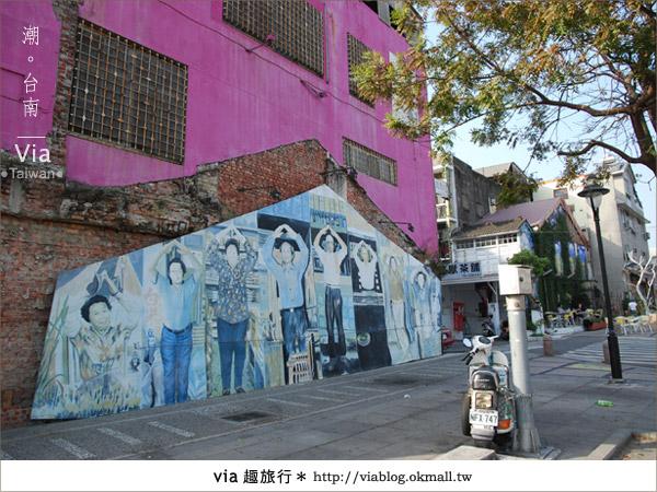 【台南】台南海安路藝術街~必拍的台南景點!14