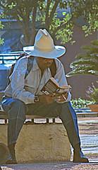 Great Hat (john.fisch) Tags: hat sanantonio reading smoking sombrero sanfernando mainplaza