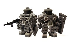 Vorden Attack Class Power-suit (The One And Only Mr.R) Tags: light power lego legs gray suit mecha bandwagon biped zsuit