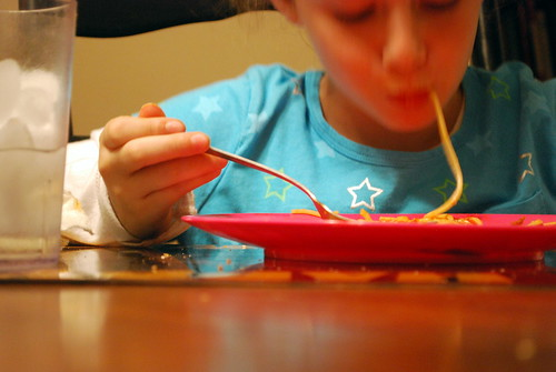 Slurping Spaghetti