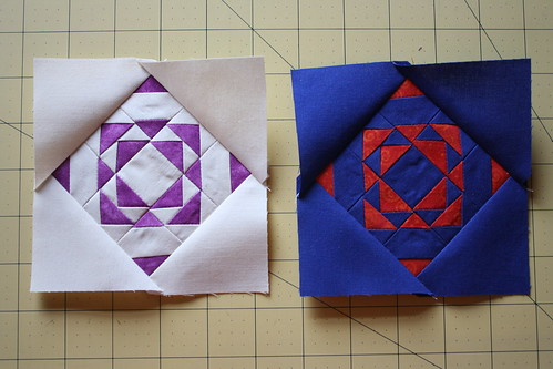Quilt blocks by Rachel