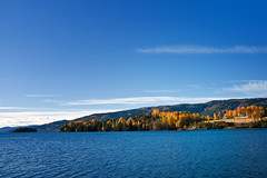 Randsfjorden i oktober (Krogen) Tags: autumn oktober nature norway landscape norge natur norwegen noruega scandinavia høst krogen landskap noorwegen noreg skandinavia hadeland randsfjorden oppland olympuse3