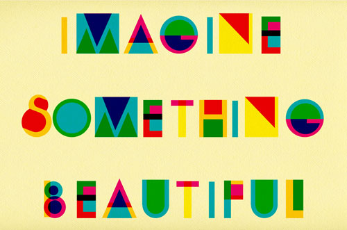 13.ImagineSomethingBeautiful