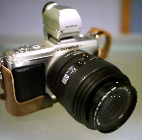 Olympus E-P2 Four Thirds 50mm f/2 Macro lens