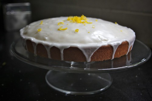 spiced lemon cake!