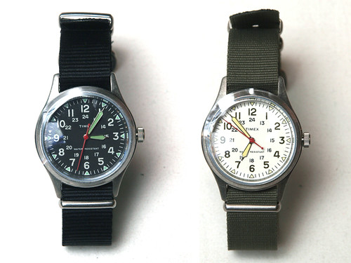 J.Crew x Timex / Vintage Field Army Watch