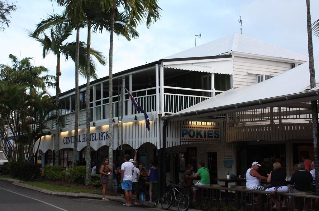 Central Hotel, Port Douglas, Qld, established 1878.