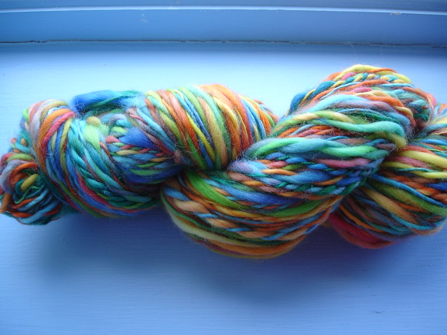 my first handspun! (4)