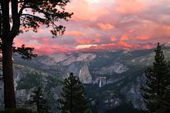 Sierra Sunset (J-Fish) Tags: sunset storm clouds landscape unescoworldheritagesite unesco yosemite yosemitenationalpark glacierpoint vernalfalls sierranevadamountains libertycap nevadafalls littleyosemitevalley d300s 1685mmf3556gvr 1685mmvr ultraherowinner