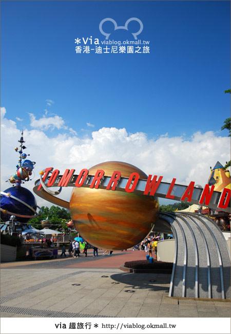 【香港自由行】跟著via玩香港(1)~爆走香港迪士尼樂園22