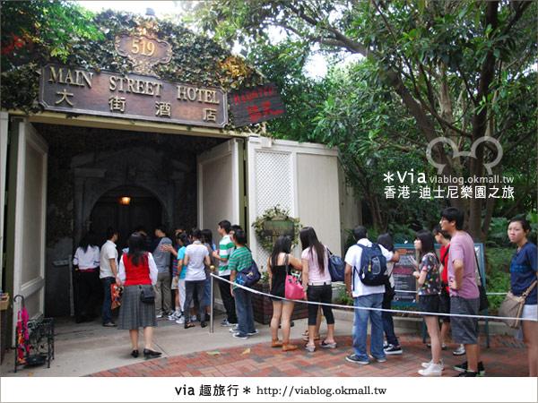 【香港自由行】跟著via玩香港(1)~爆走香港迪士尼樂園52