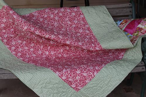 Pink Quilt, Back