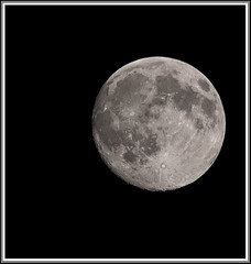 It's full moon now, be careful !!!!!! (IsoD300) Tags: moon night nacht explore maan mywinners anawesomeshot