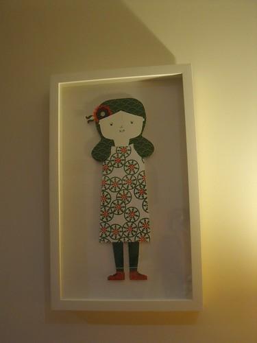 A Ana Ventura em minha casa...