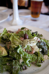 Jack Lalanne's Favorite Salad, John's Grill, San Francisco