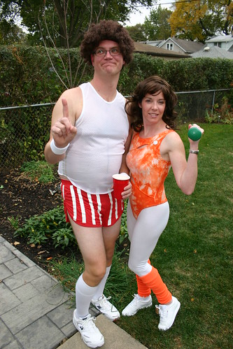 Jane Fonda and Richard Simmons