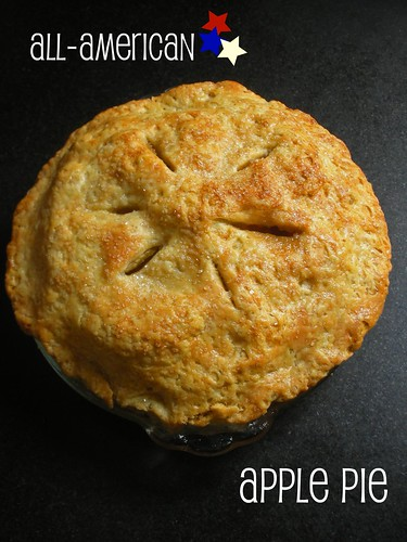 all-American, all deilcious apple pie
