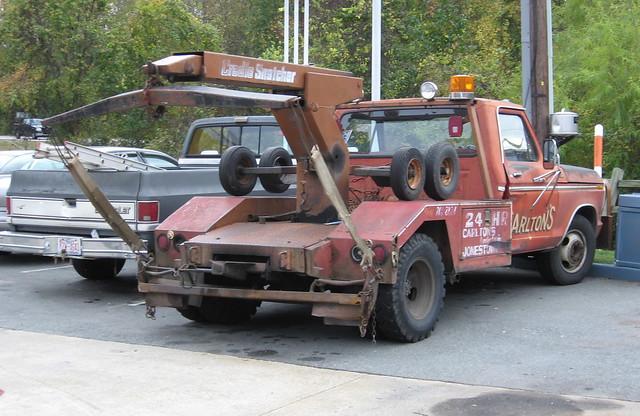 ford truck ranger 1978 1979 tow f350 wrecker