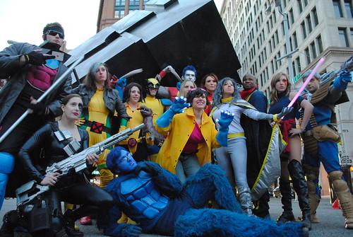 super heroes halloween 2010