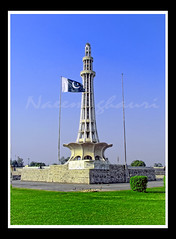 Minar-e-Pakistan  By Muhammad Naeem Ghauri (naeem.ghauri) Tags: china california birthday park new city trip tra
